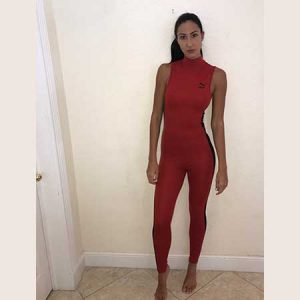 Puma One Piece Red