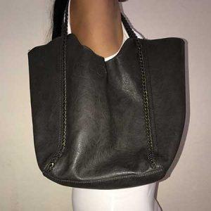 Dark Green / Gray Bag