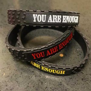 You are Enough Wristbands -5 Pack